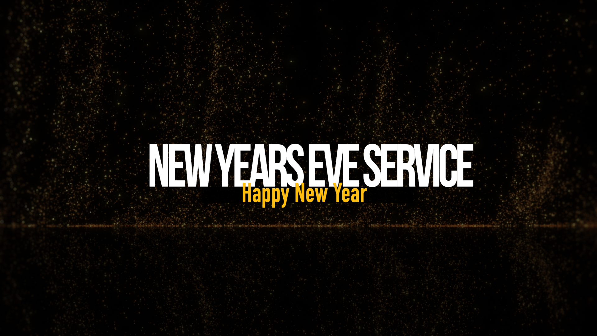 New Years Eve Service Image