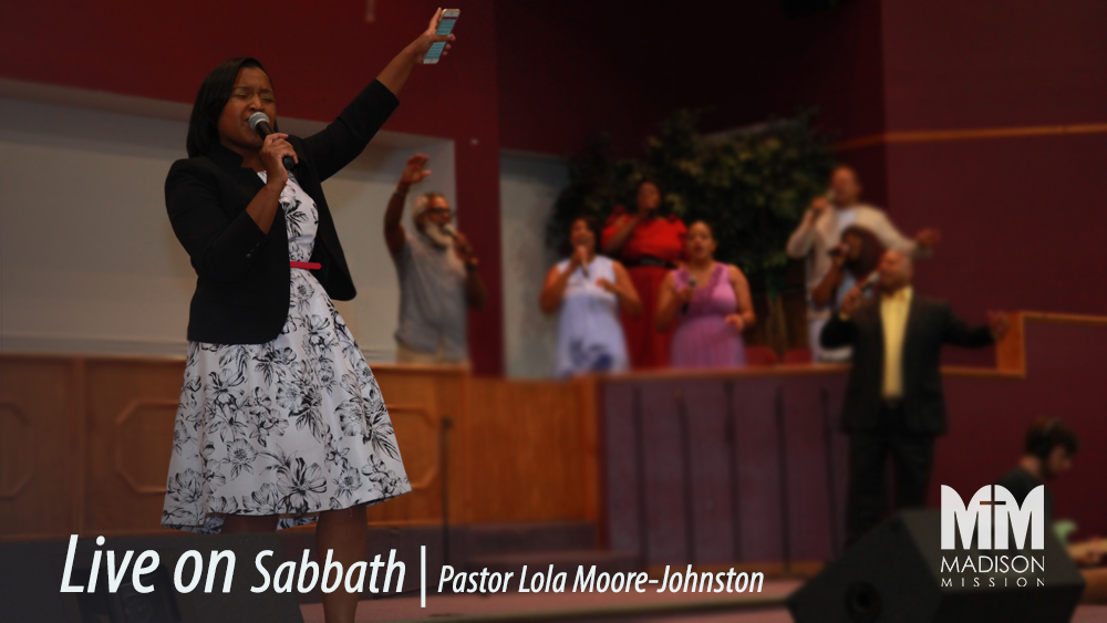 Pastor Lola Moore-Johnston