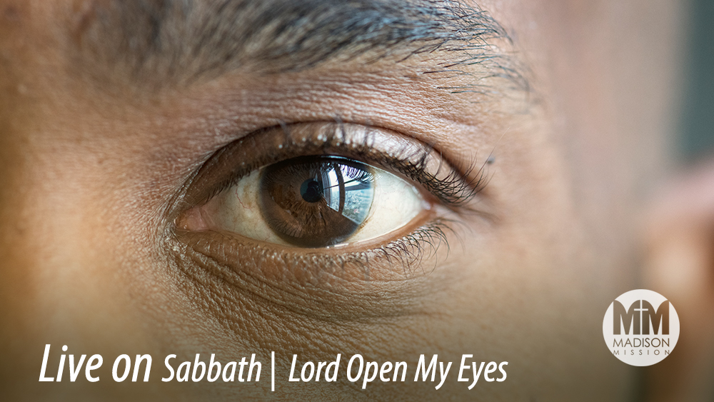 Lord Open My Eyes Image